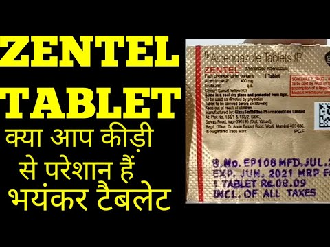 Albendazole Mg - Albendazole (Zentel) listing extended to treat hookworm and strongyloidiasis