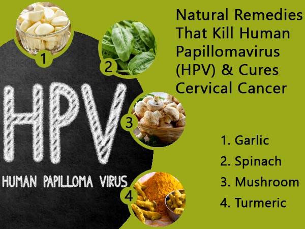how to treat human papillomavirus naturally