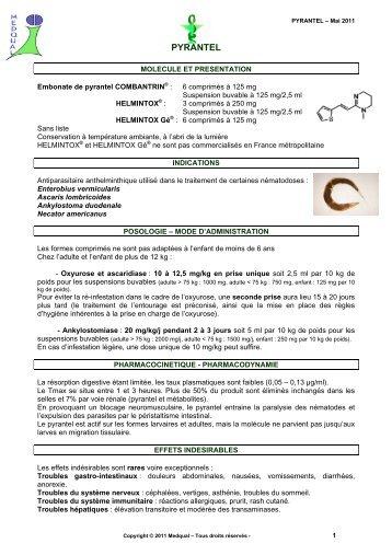 efectul pastilelor de la viermi la viermi