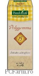 Polygemma 15 Intestin detoxifiere - PlantExtrakt