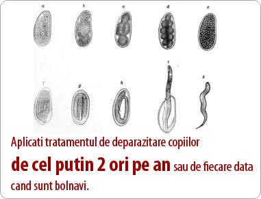 tratamentul preventiv al paraziților preparate cehe pentru viermi