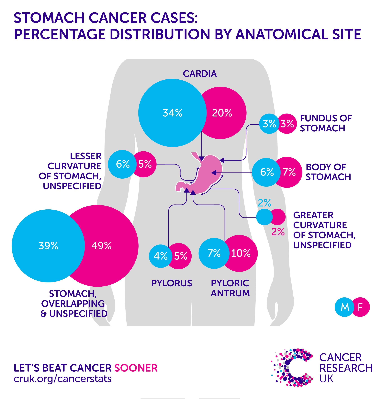 gastric cancer incidence