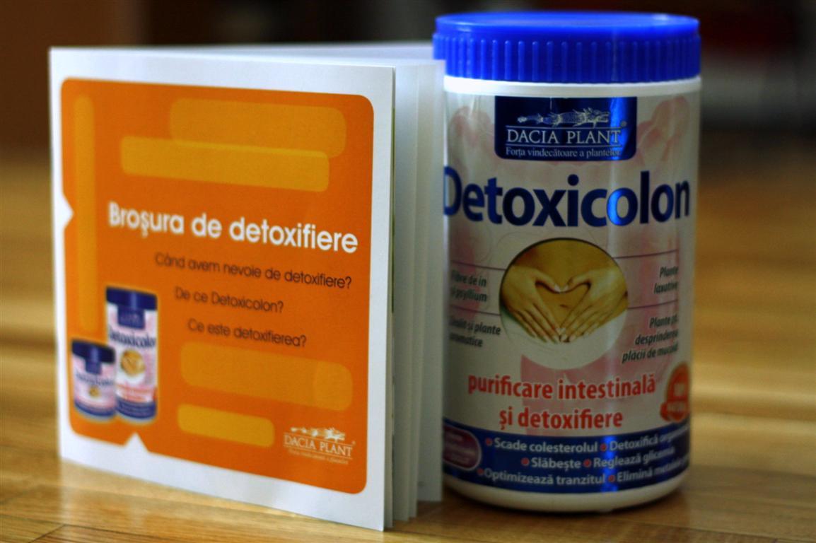 detoxifierea curățării colonului