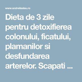 Cura de detoxifiere de 3 zile - cureți organismul, previi boli grave și slăbești