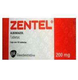 Albendazol VIM SPECTRUM 200 mg x 2cpr.