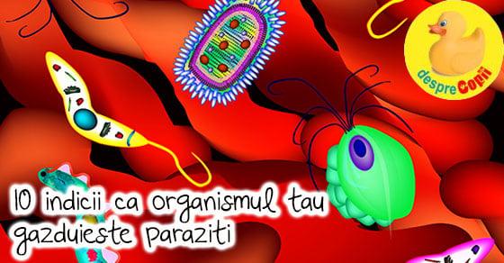 paraziți pentru bolile alimentare