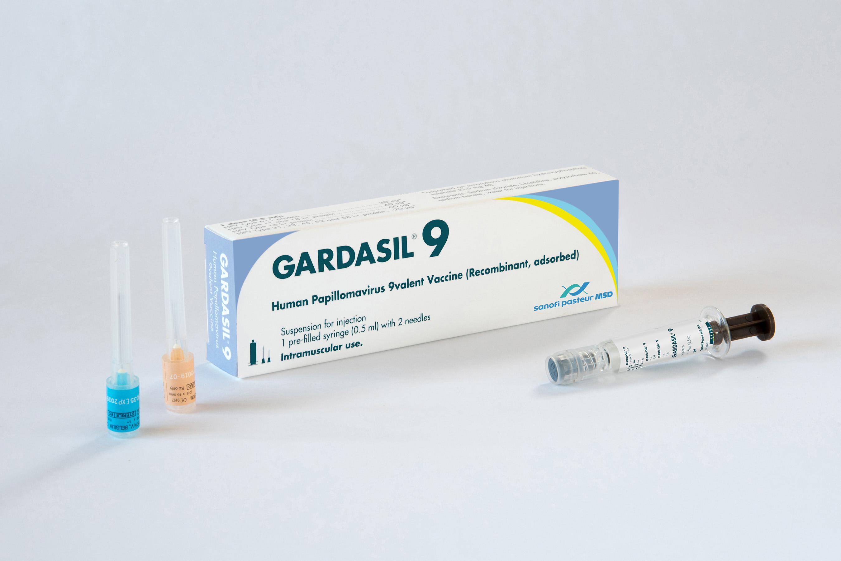 Papillomavirus nonavalent vaccine.