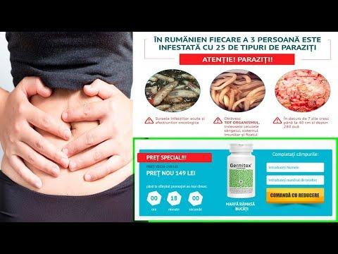 plan de tratament cu paraziti secnidazol contra oxiuros