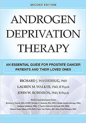 Cancer hormonal manipulation. Prostate cancer hormonal manipulation