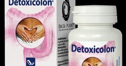 Detoxicolon - Dacia-Plant, 60 comprimate (Detoxifiere) - in2constient.ro