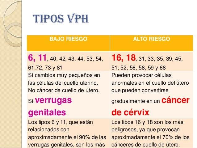 virus papiloma bajo riesgo