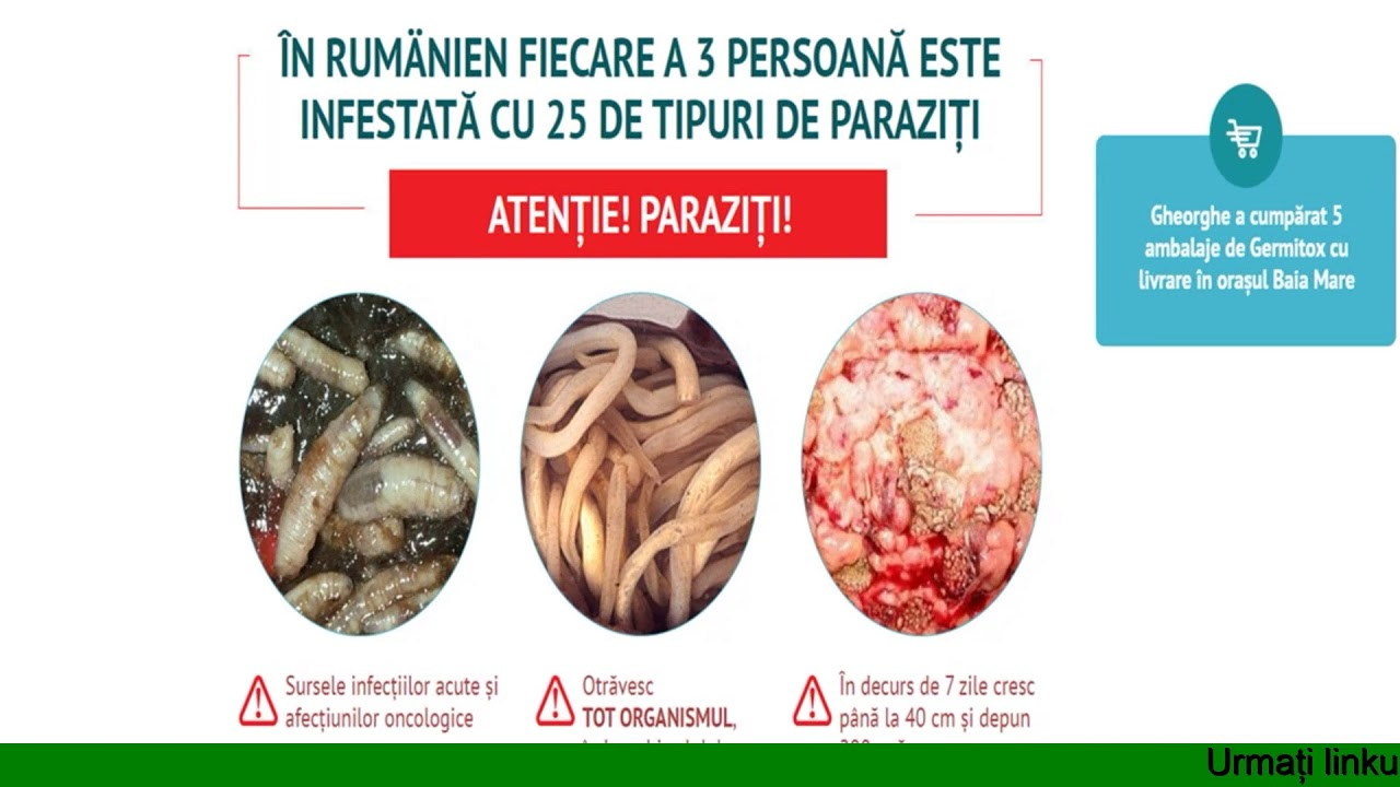 retrageri de paraziti)