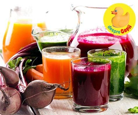 5 sucuri din legume pentru slăbit - Doza de Sănătate